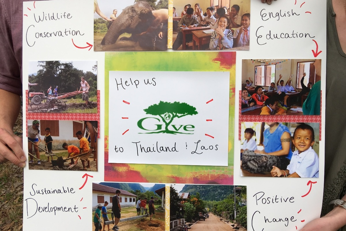 Fundraiser by Nica Bisel : Help us GIVE to Thailand and Laos