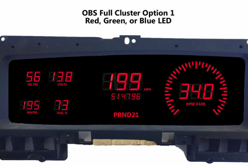 1992 Ford F250 >> Fundraiser by Jeff Wilson : OBS Digital Dashboard