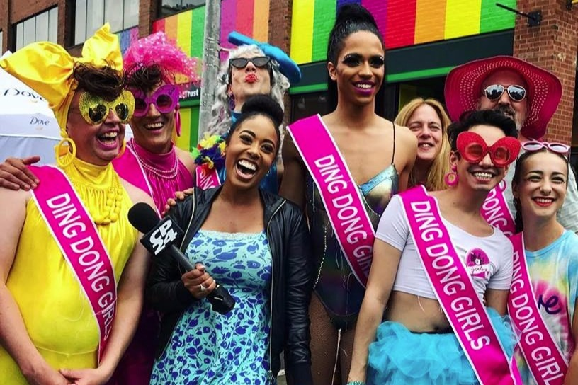 Https Fringetoronto Com Festivals Fringe Event Ding Dong Girls We Had A Very Successful And Silly Pride Day Heres A Photo Of The Ding Dong Team