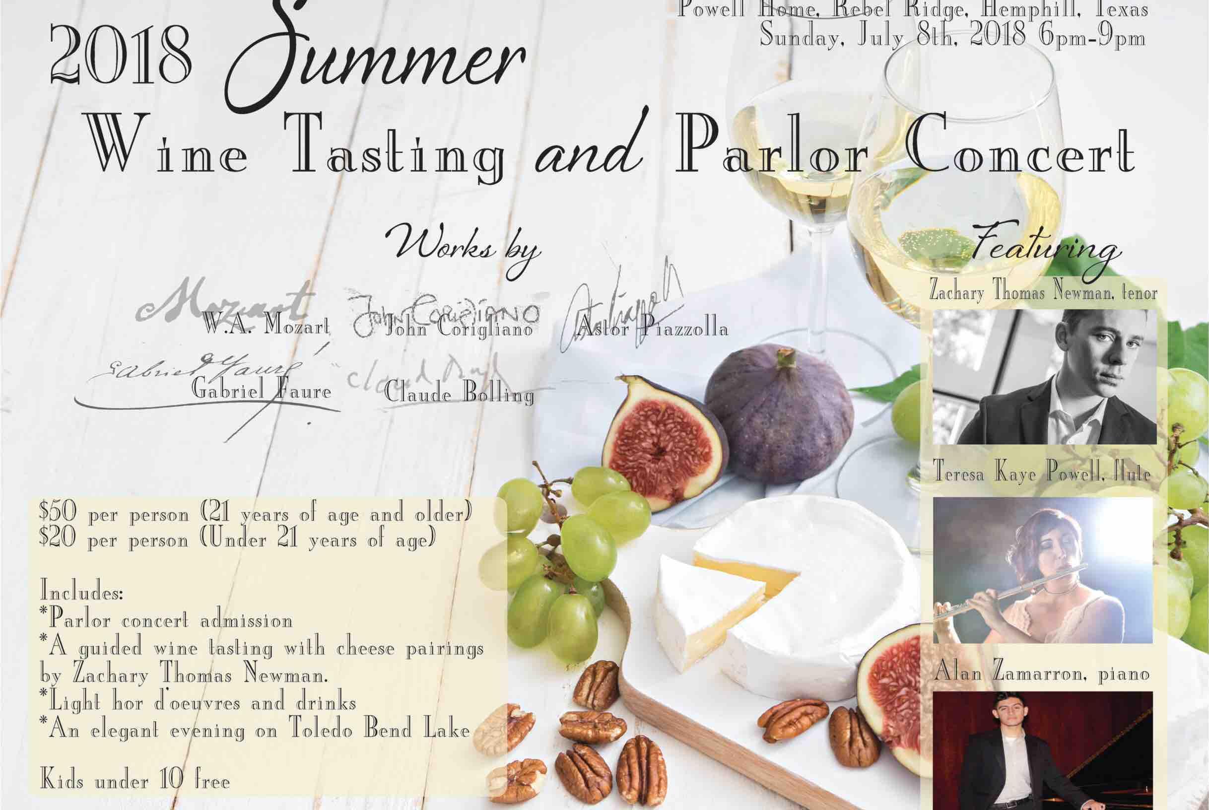 Fundraiser by Teresa Kaye Powell : Wine Tasting & Concert For CASA Kids