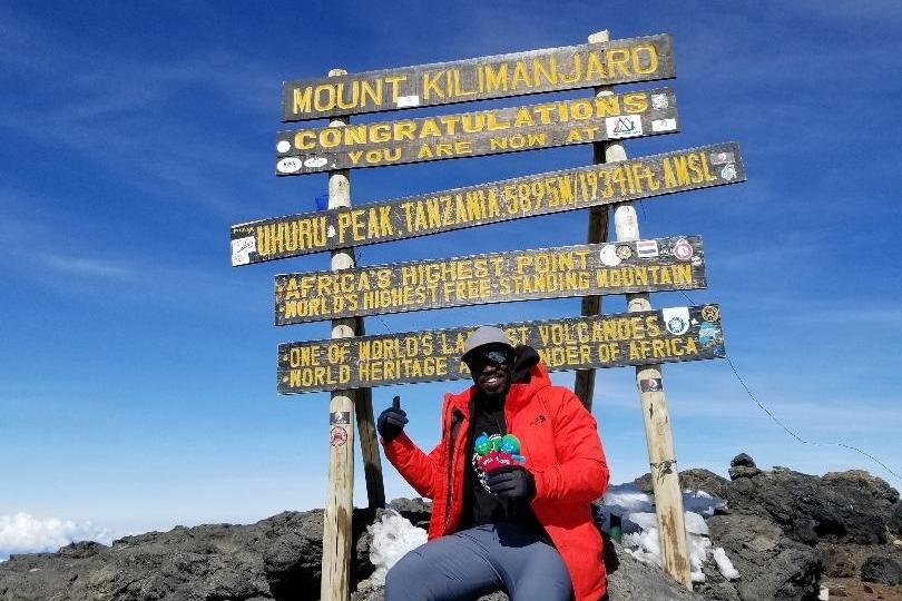 Fundraiser by Jermaine Middleton : Summit 413: Mount Everest 2019