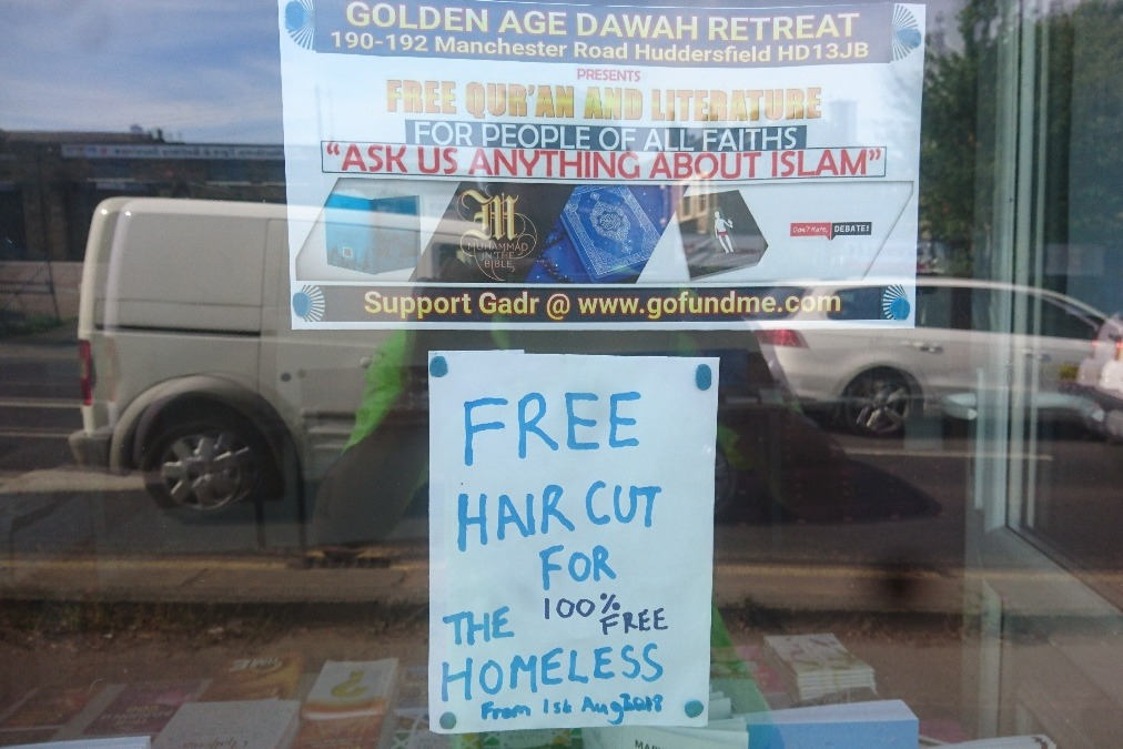 Fundraiser By Dawah Huddersfields Retreat Free Hair Cut 4 The