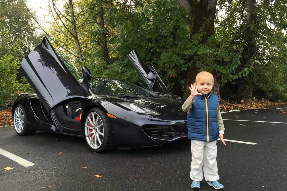 fundraiser by michiel peetroons supercars for kids