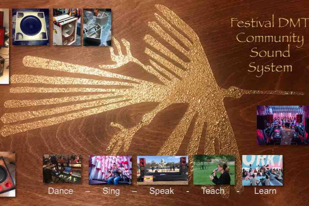 Fundraiser by Giovanni Galveston : Community Sound System (FDMT)