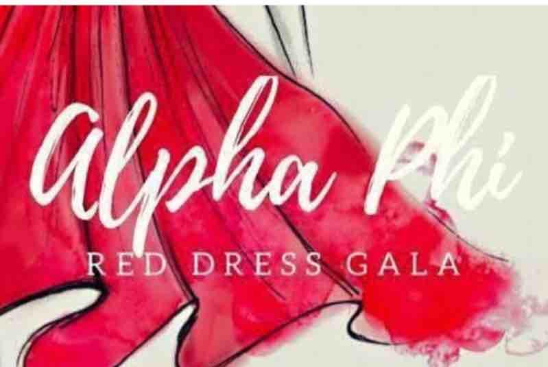 6279e0080e2 Fundraiser by Mariaeva Batlle   Alpha Phi Red Dress