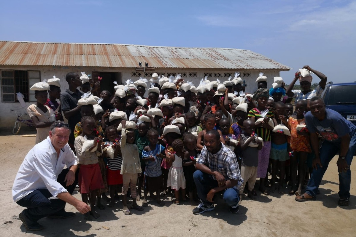 Spendenkampagne von Marcel Juchhoff: Weihnachtsgeschenke für Waisen