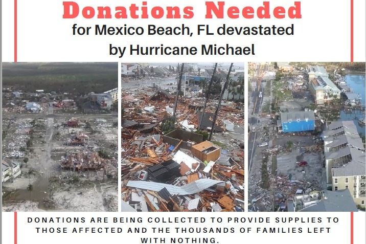 Fundraiser by Courtney Block : Mexico Beach Relief Fund