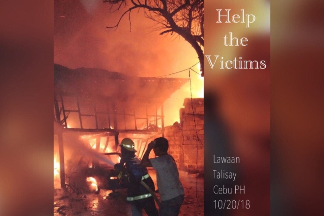 Fundraiser by Aileen Ibanez : Help the Fire Victims, Cebu PH
