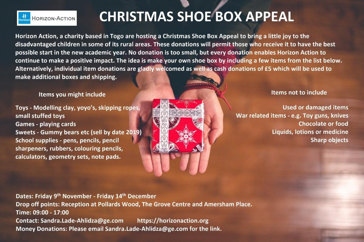 Christmas Shoe Box Appeal 2019.Fundraiser By Sandra Lade Ahlidza Christmas Shoe Box Appeal