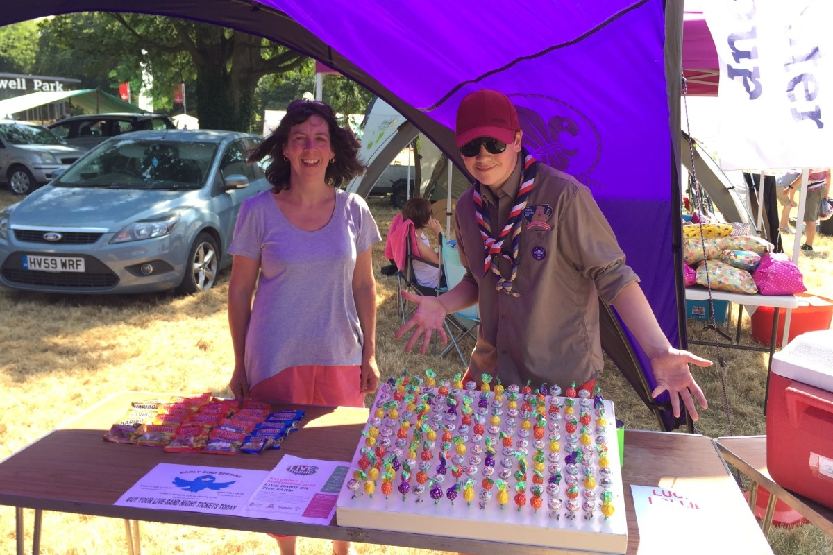 Fundraiser for Nicky Slade by Oliver Slade : World Scout