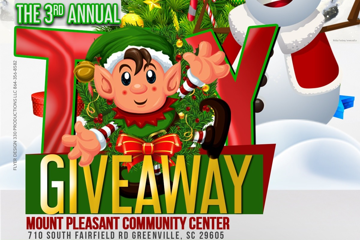 Christmas Giveaway Flyer.Fundraiser By Joseph Wallace 3rd Annual Christmas Toy Giveaway