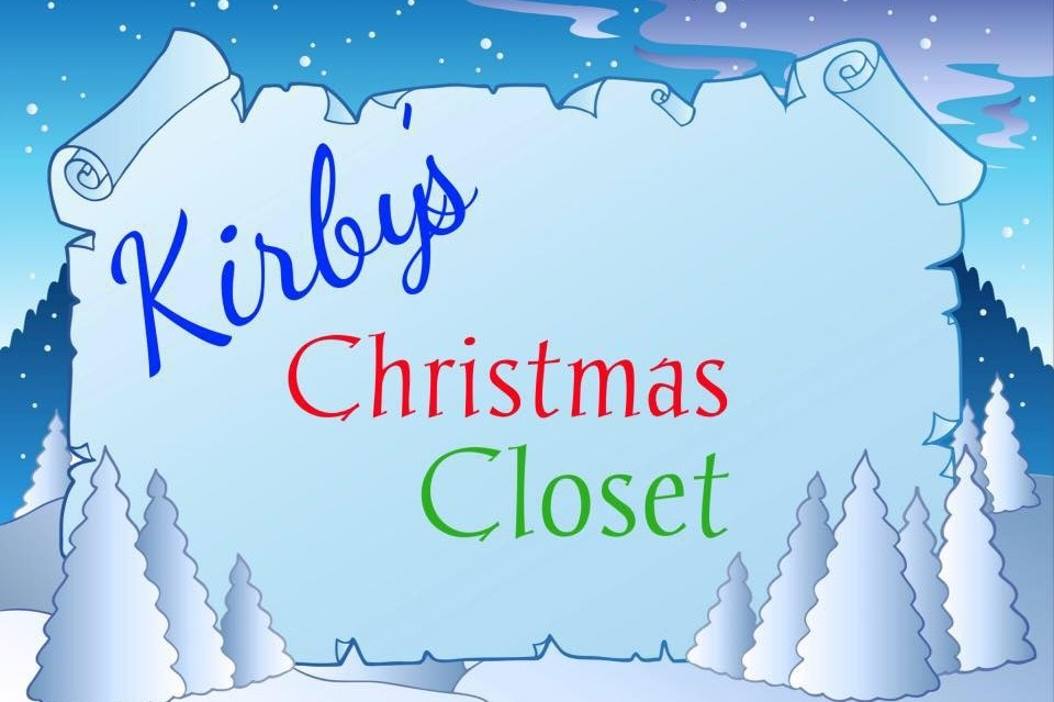 Fundraiser by Hilary Van Asperen Rossow : Kirby\'s Christmas Closet Gifts