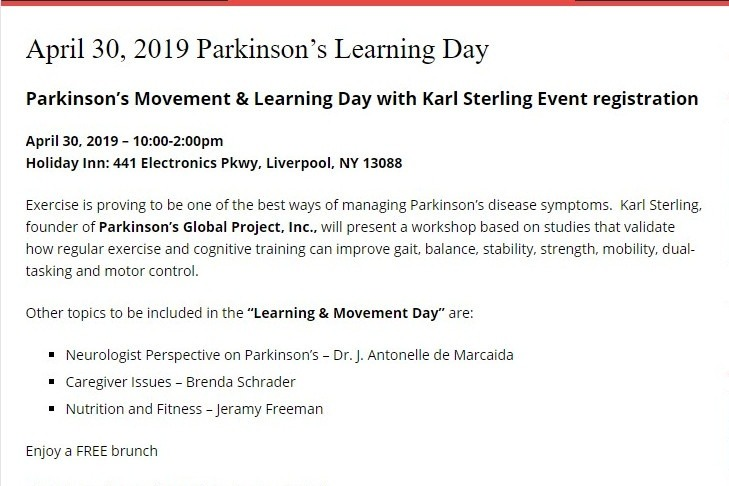 Fundraiser by Karl Sterling : Parkinson's Global Project ®️