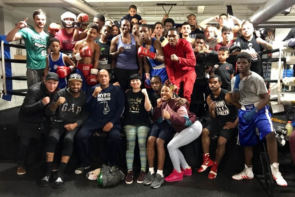 Fundraiser by Sarah Deming : NYC Cops and Kids Boxing Gym