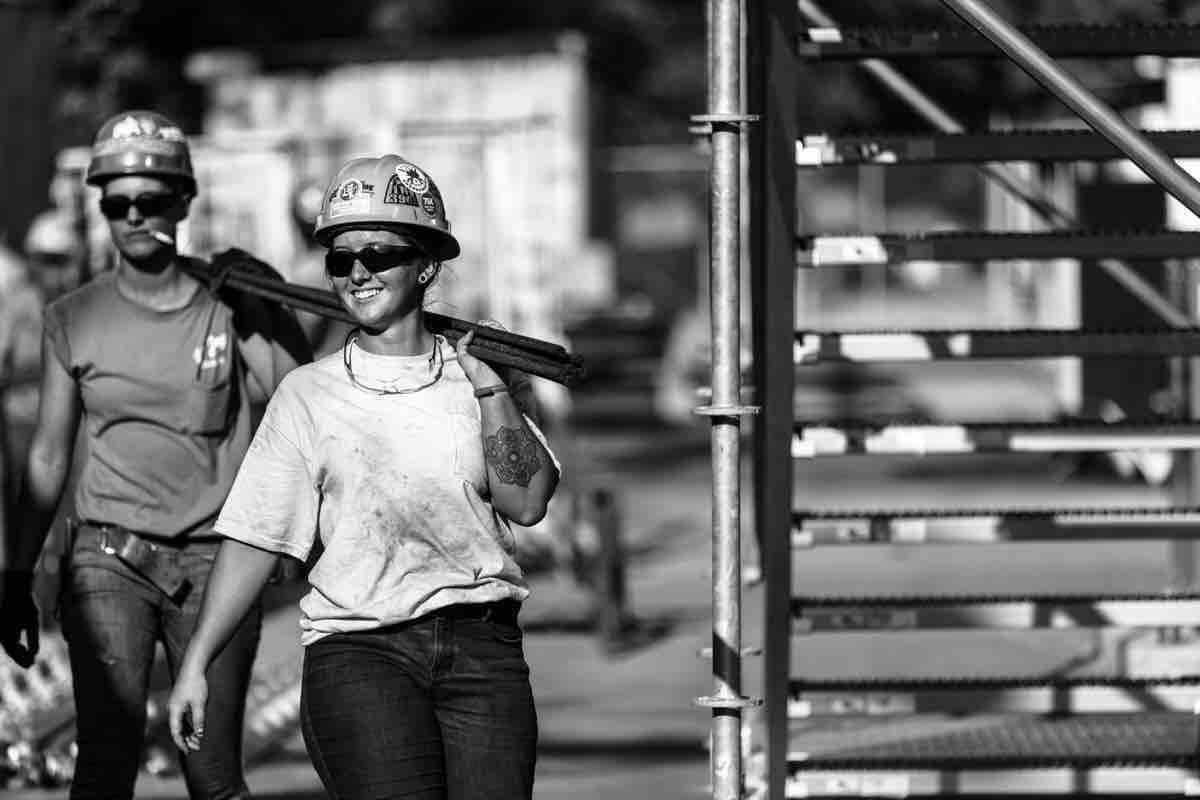 Fundraiser by RJ Hartbeck : female Ironworkers photo exhibit