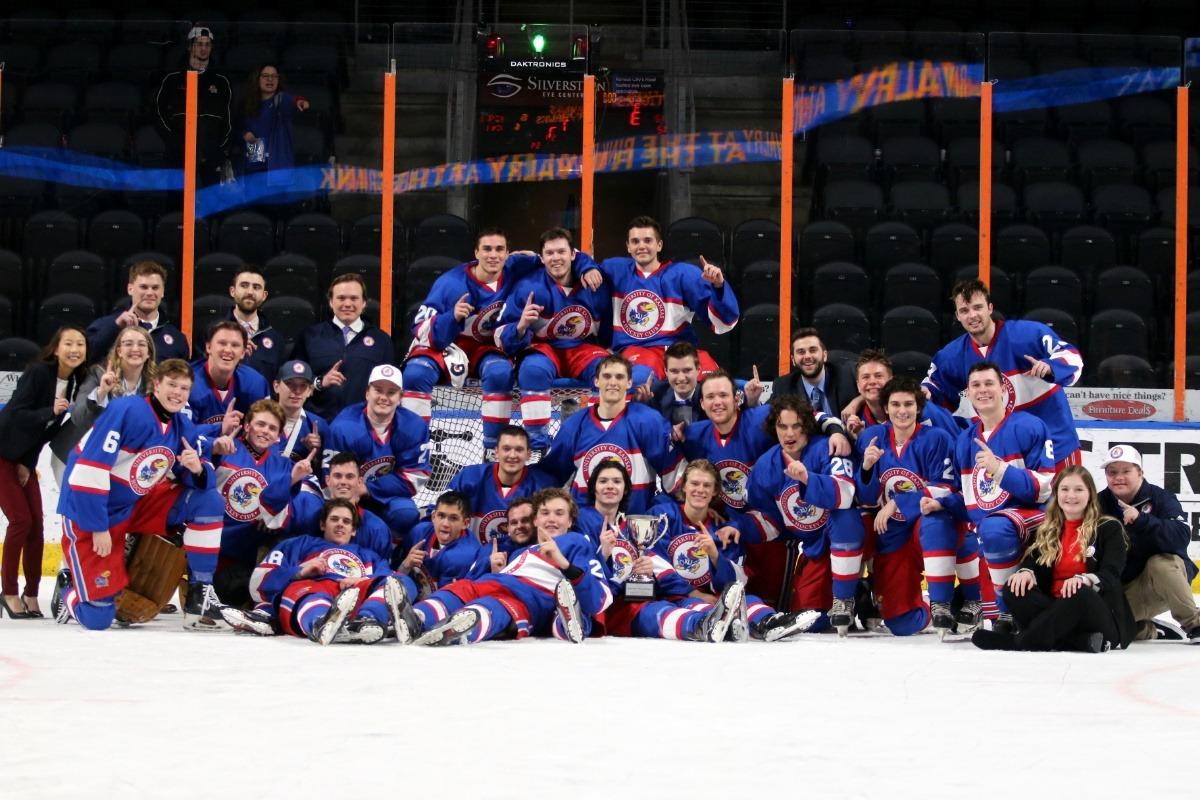 Fundraiser by Jayhawk Hockey   Get KU Ice Hockey to Nationals 26f71f298dd