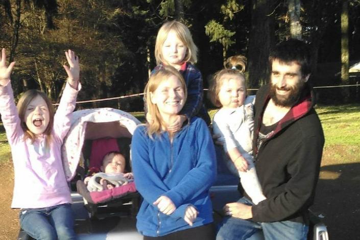 Pics of homeless family