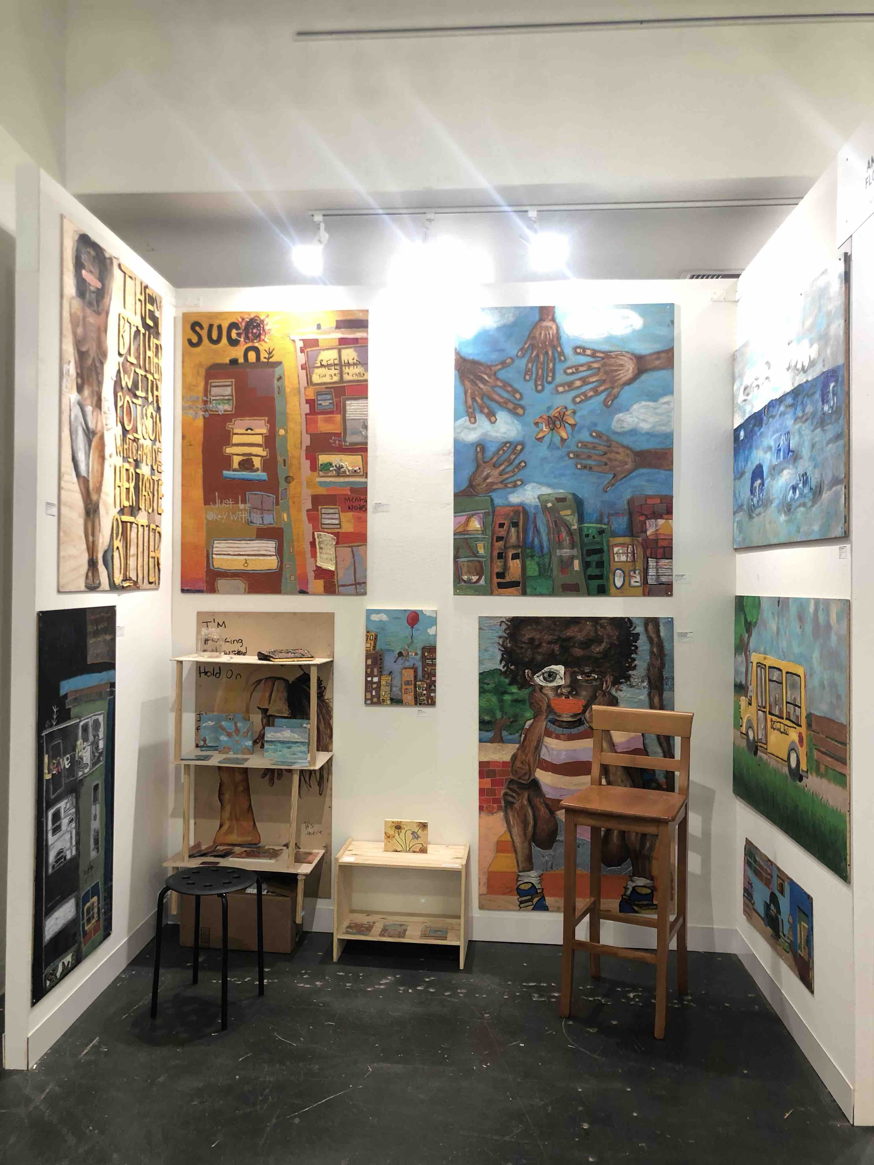 Exhibition Stand Art : Fundraiser by amanda fair please help me secure my exhibition stand