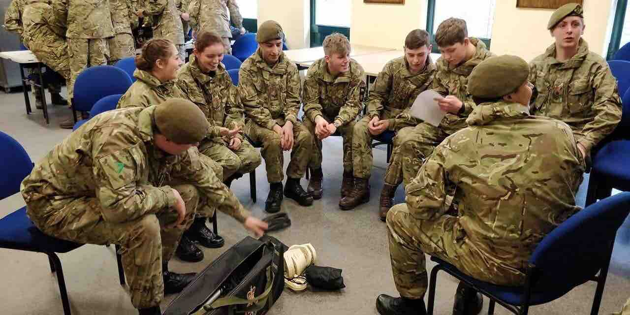 Afx Army Cadets fundraiser for ellie simpsontrinity muller : exercise