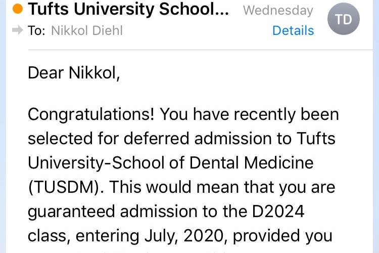 Fundraiser by Nikki Diehl : Nikki's Dental School Deposit