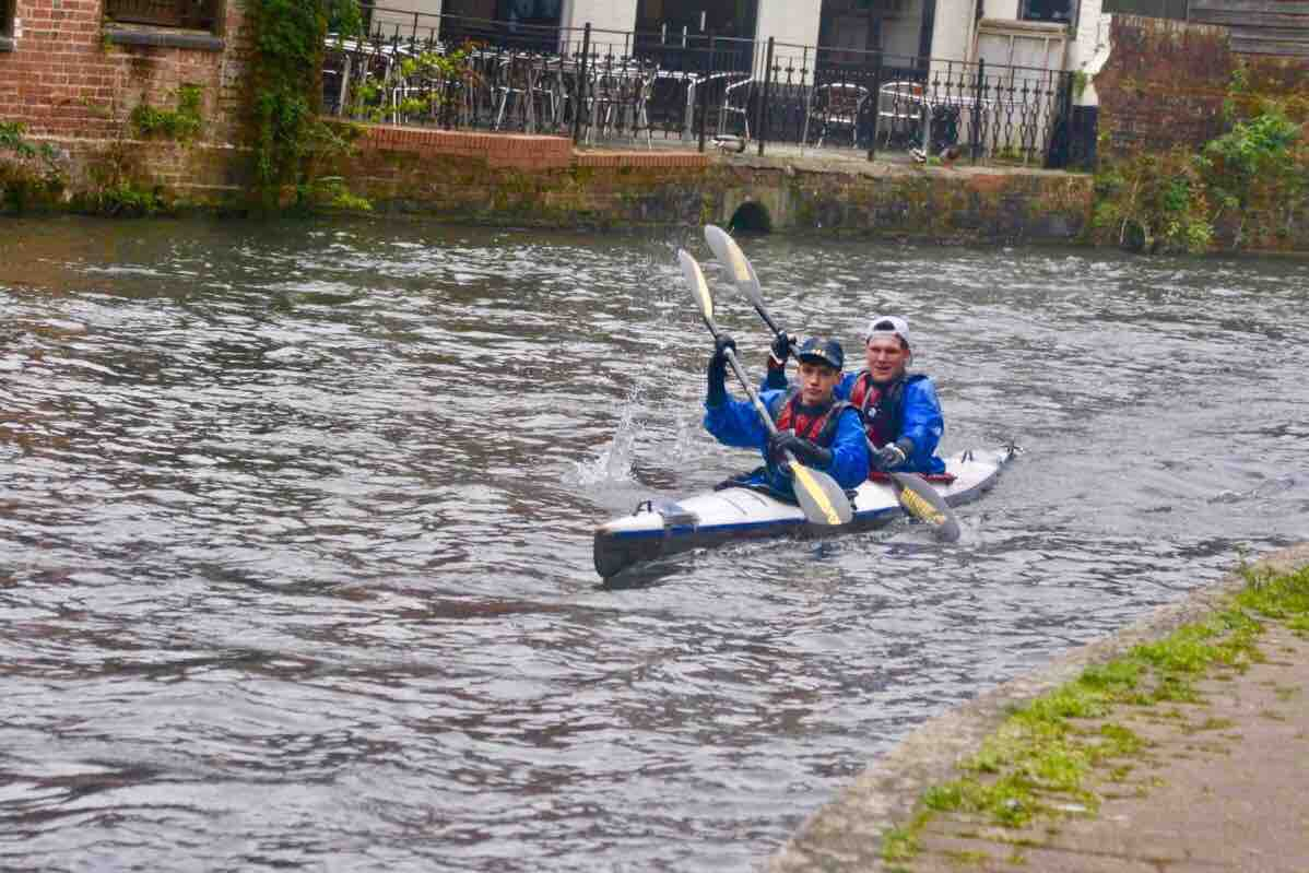 Fundraiser by Bob Craig-Wood : Devizes to Westminster Kayak