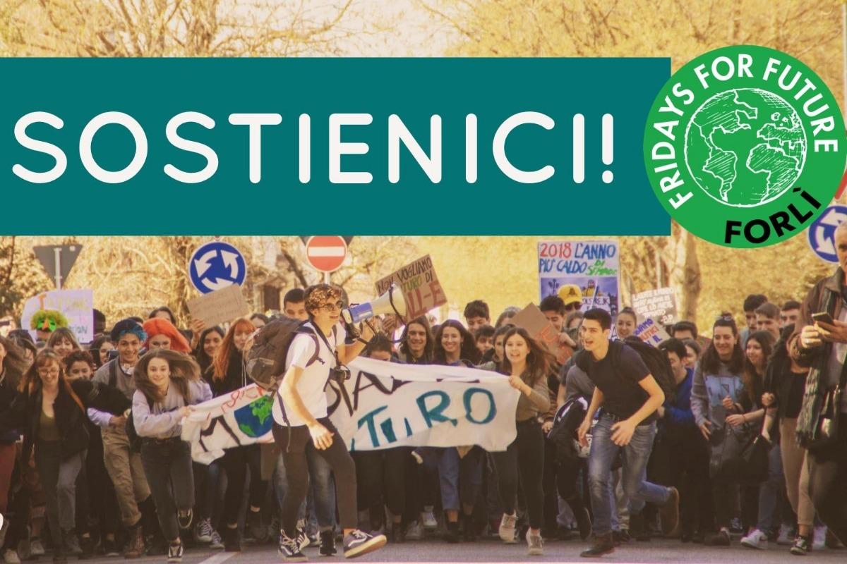 21d9d2066 Raccolta fondi di Giacomo Zattini   Supporta Fridays For Future Forlì!