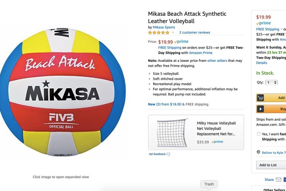 c3f148592f Fundraiser by Nora Tee : Sand Volleyballs - Summer Training