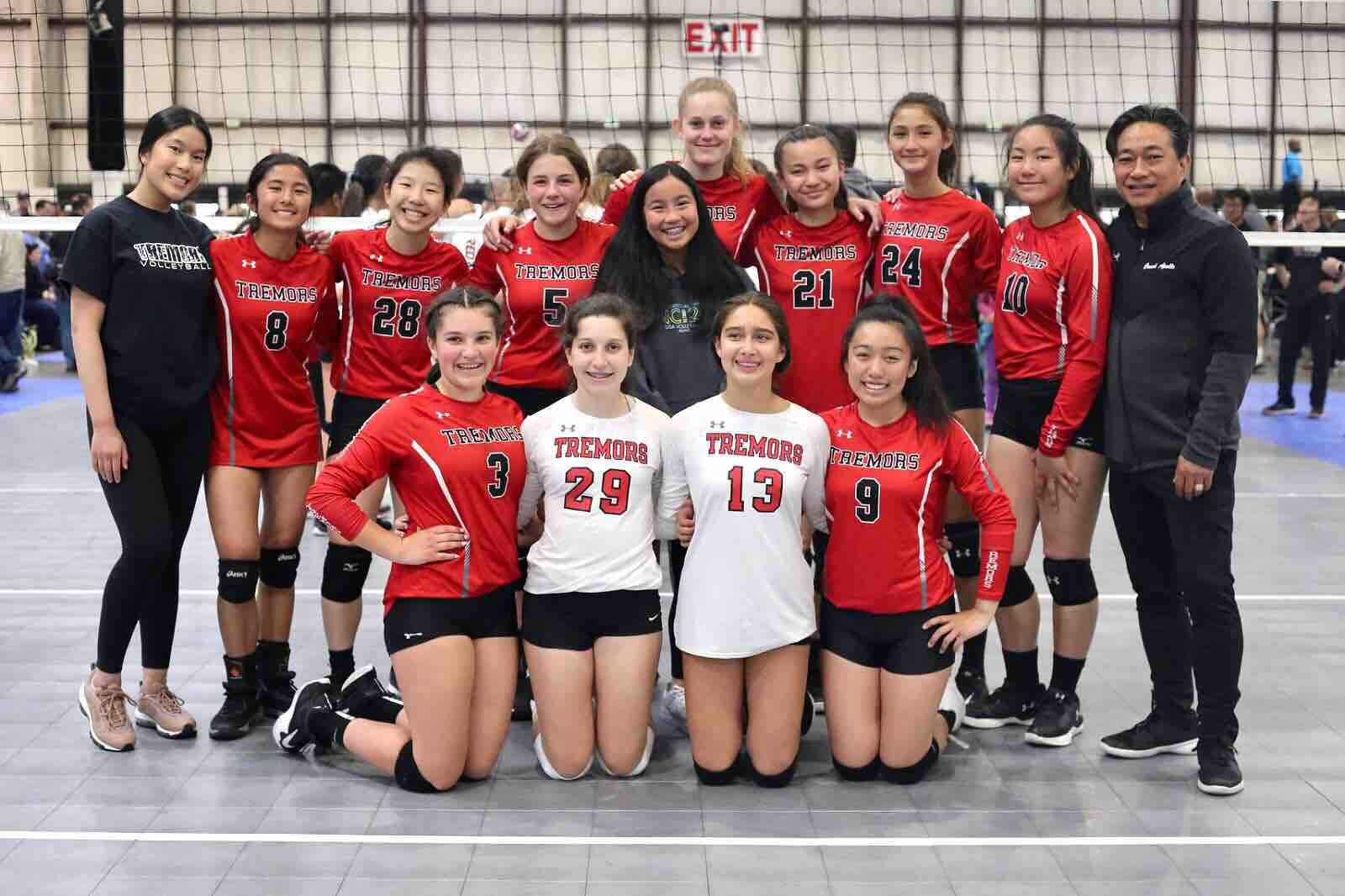 Fundraiser By 15 2 Palkons Co Beatriz Cansino Sf Tremors 14 2 Tigers Volleyball Team