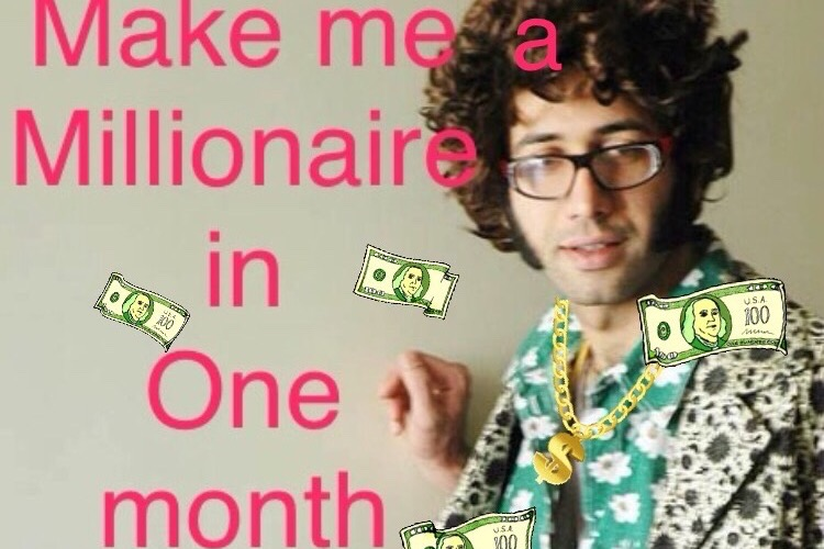 Fundraiser by Vahid Sharifian : Make me a millionaire in one
