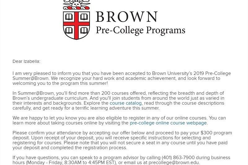 Fundraiser by Izabella Orozco : Izabella's Brown Pre-College