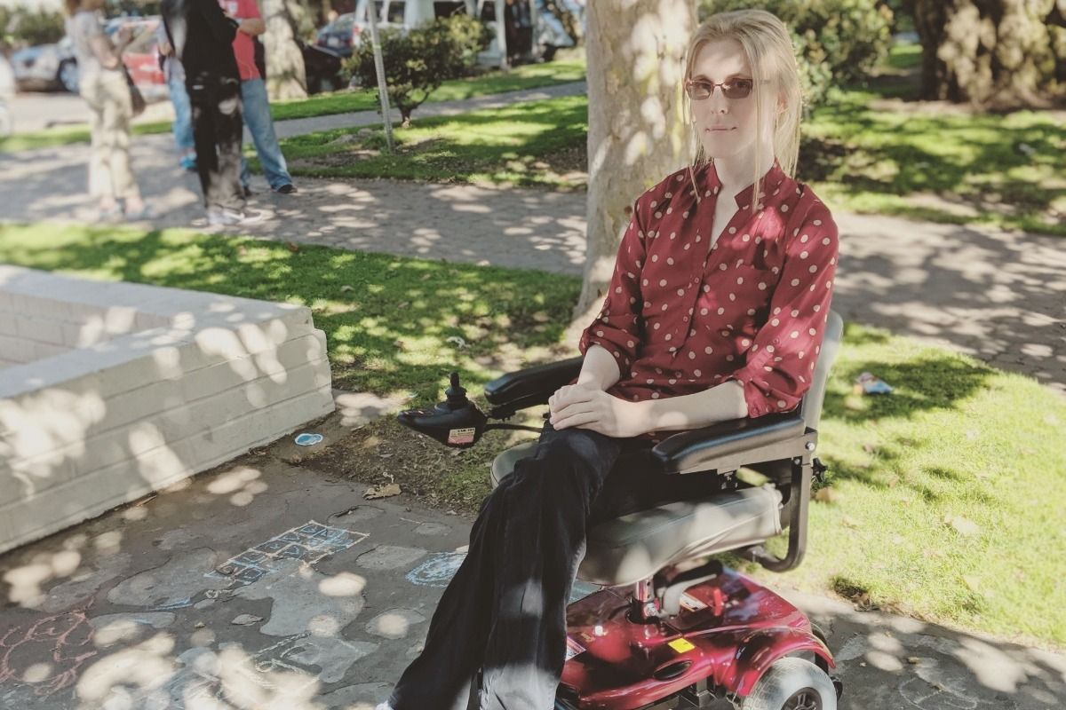 Fundraiser by Kay Solo : Help me buy a wheelchair