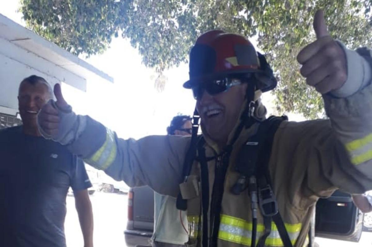 Stephen (Esteban) Alcorn - Retired Fire Chief