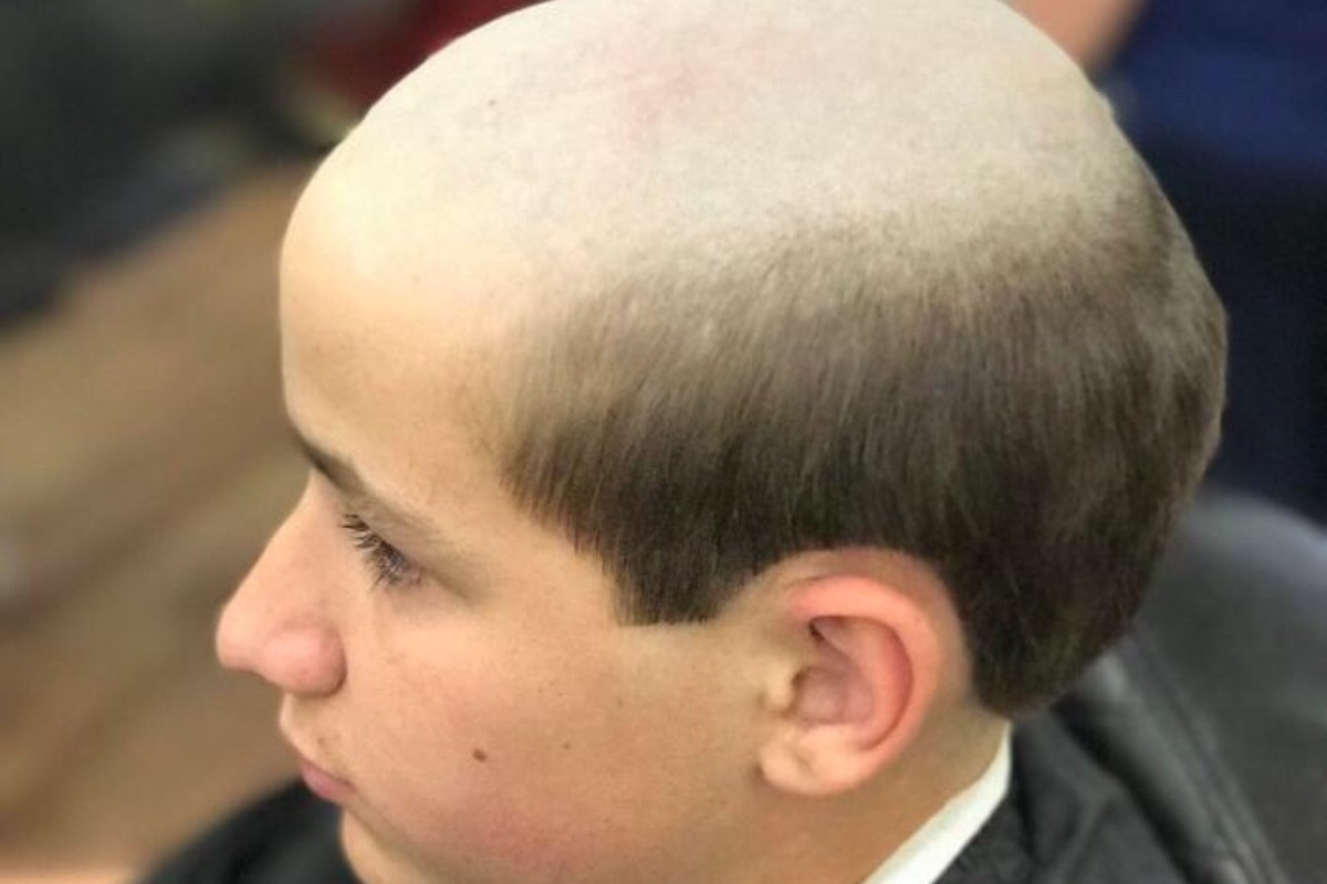 Donate To Raise 400 To Get Jacob An Old Man Haircut