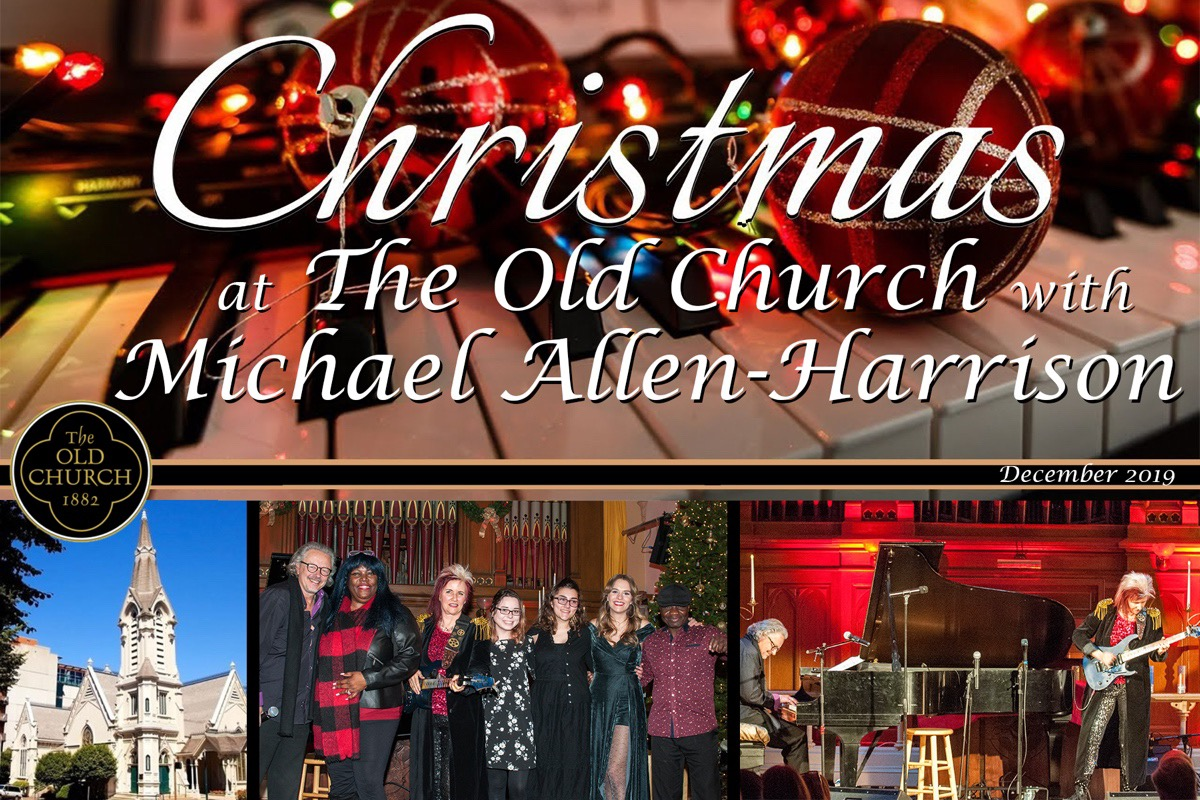 Michael Allen Harrison Christmas At Old Church 2020 Fundraiser by Michael Harrison : Help Fund A Christmas At The Old