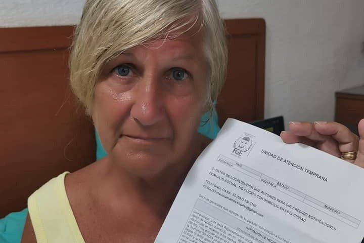 South African retiree Roselyne robbed and stranded Mexico