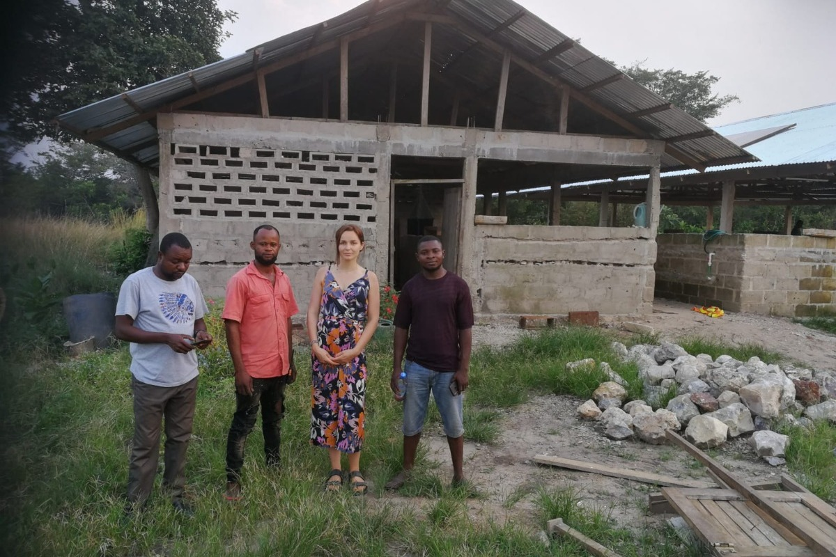 Fundraiser By Joleen Krepel Praktijkschool In Afrika Congo Drc
