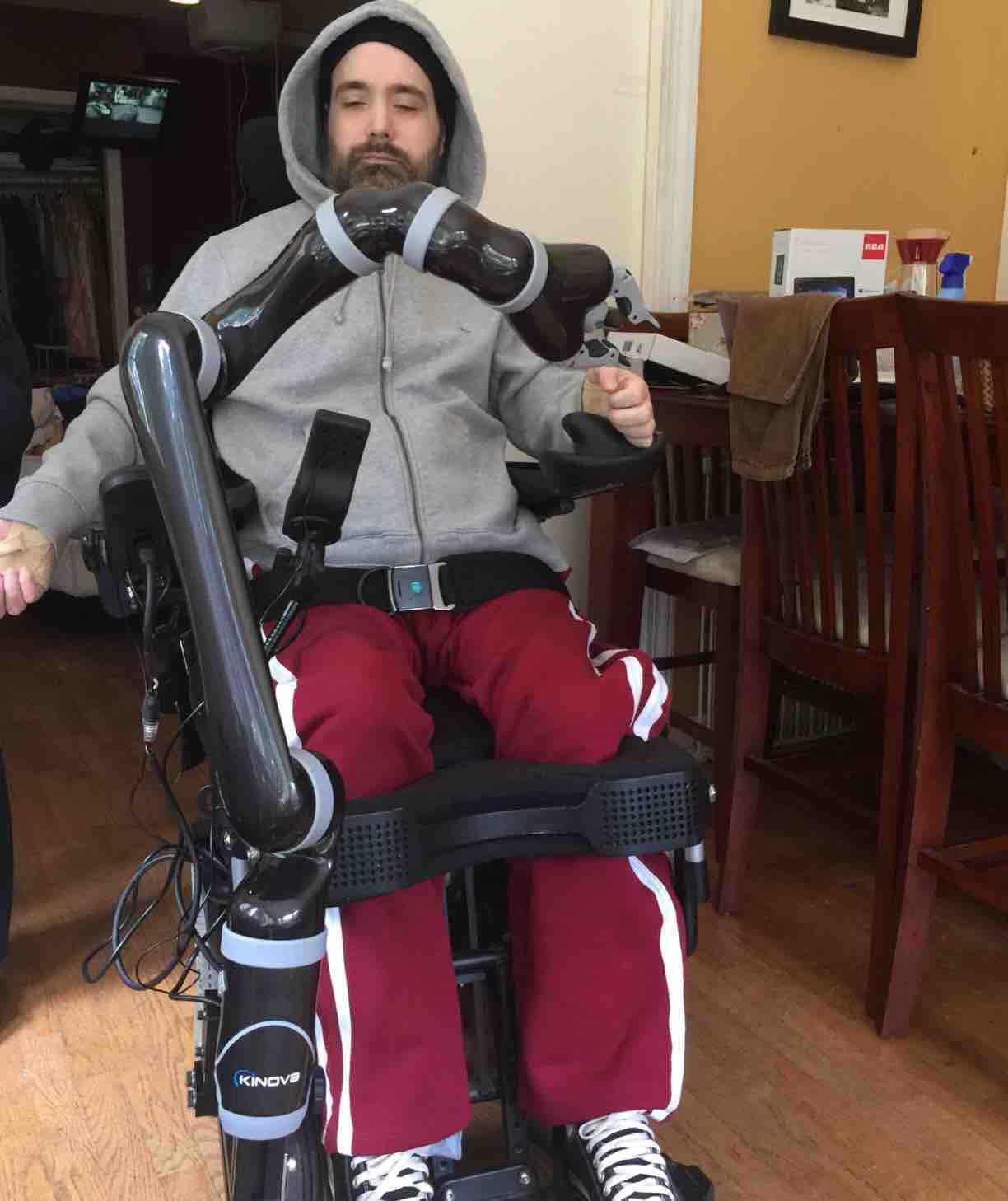 Donate Now Not now  sc 1 st  GoFundMe & Fundraiser by Matt Mazzola : Quadriplegic in need of Arm! JACO