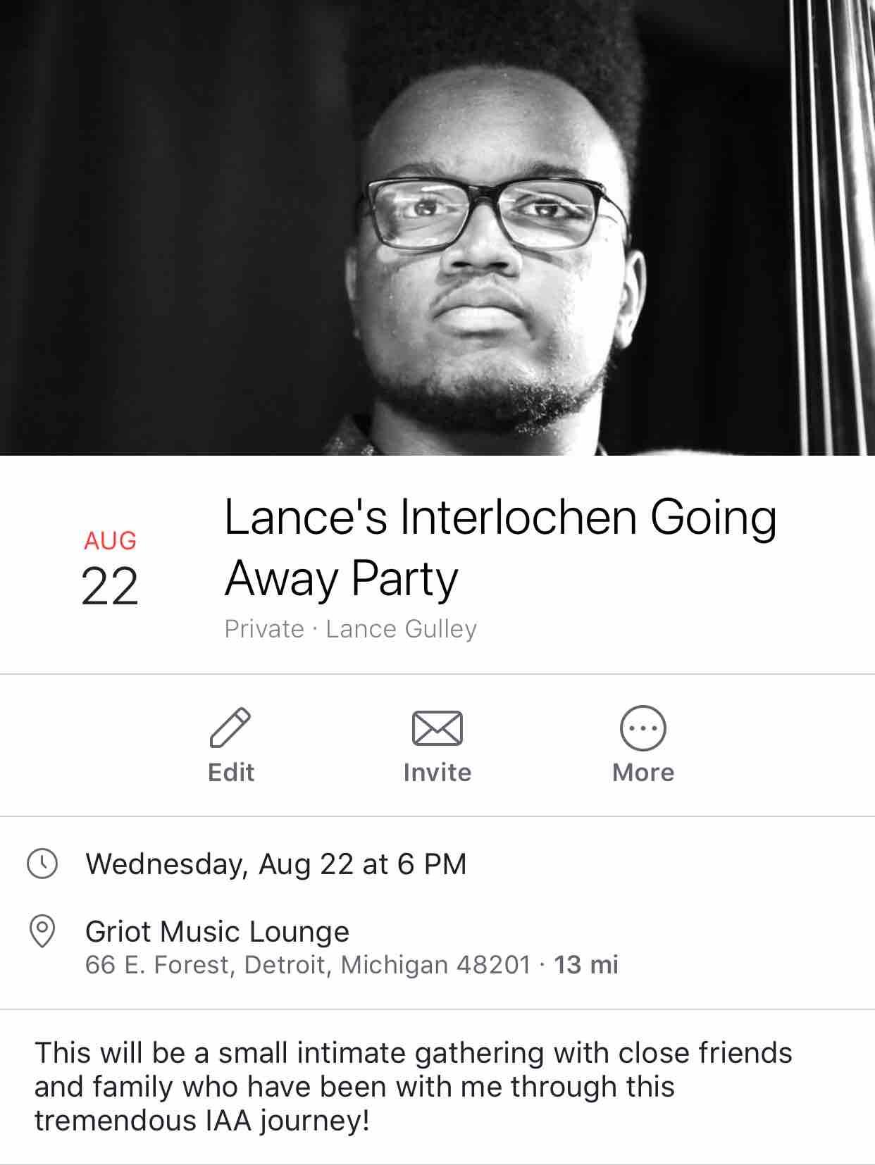 Fundraiser by Lance Gulley : Help Lance Attend Interlochen